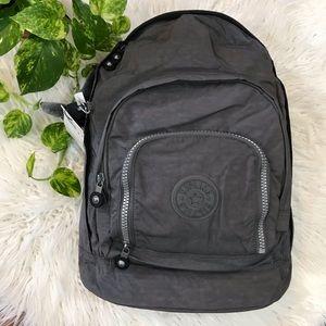 🌿Grey Narper Nylon Expandable Backpack